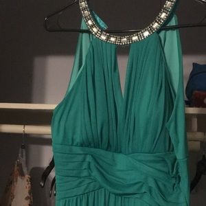 Dresses & Skirts - Teal Gown